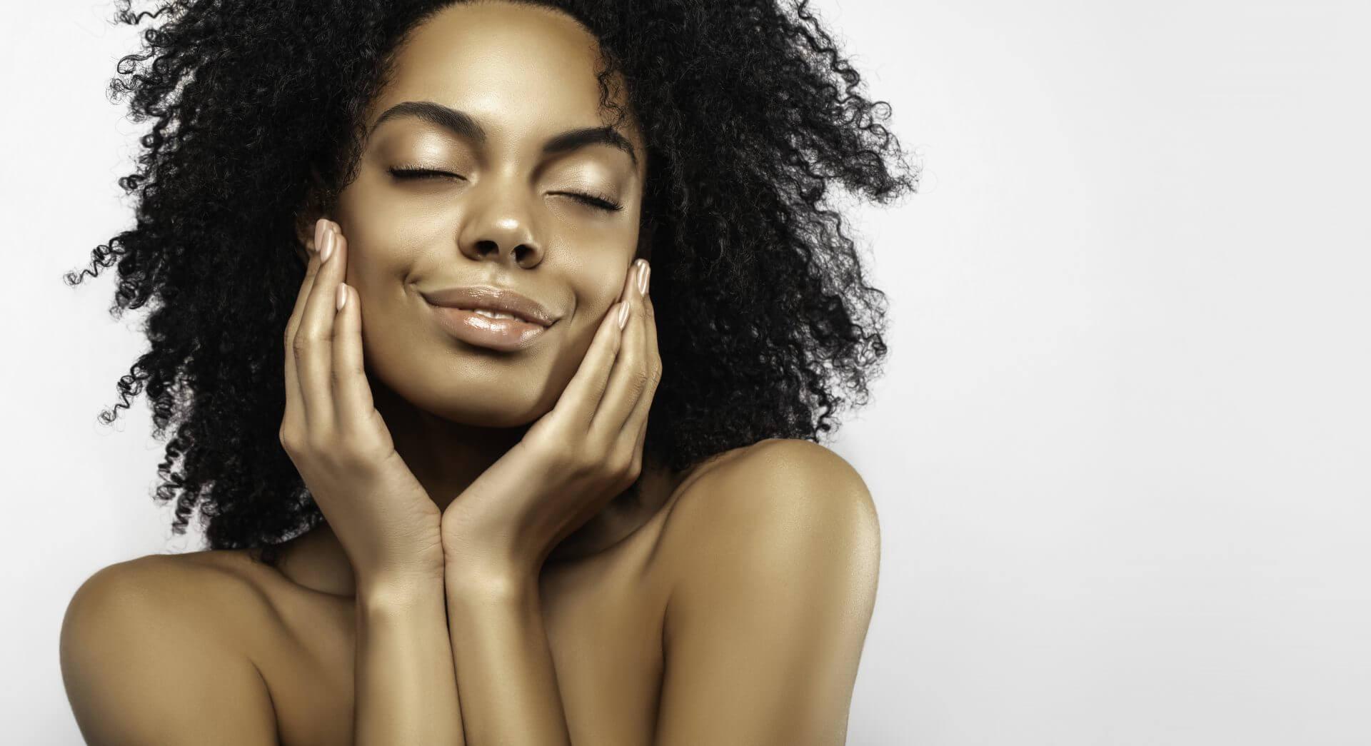 tør hud og rødme
