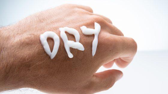 tør hud bumser