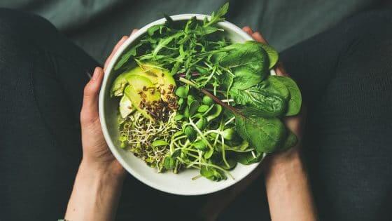 grøntsager mod uren hud