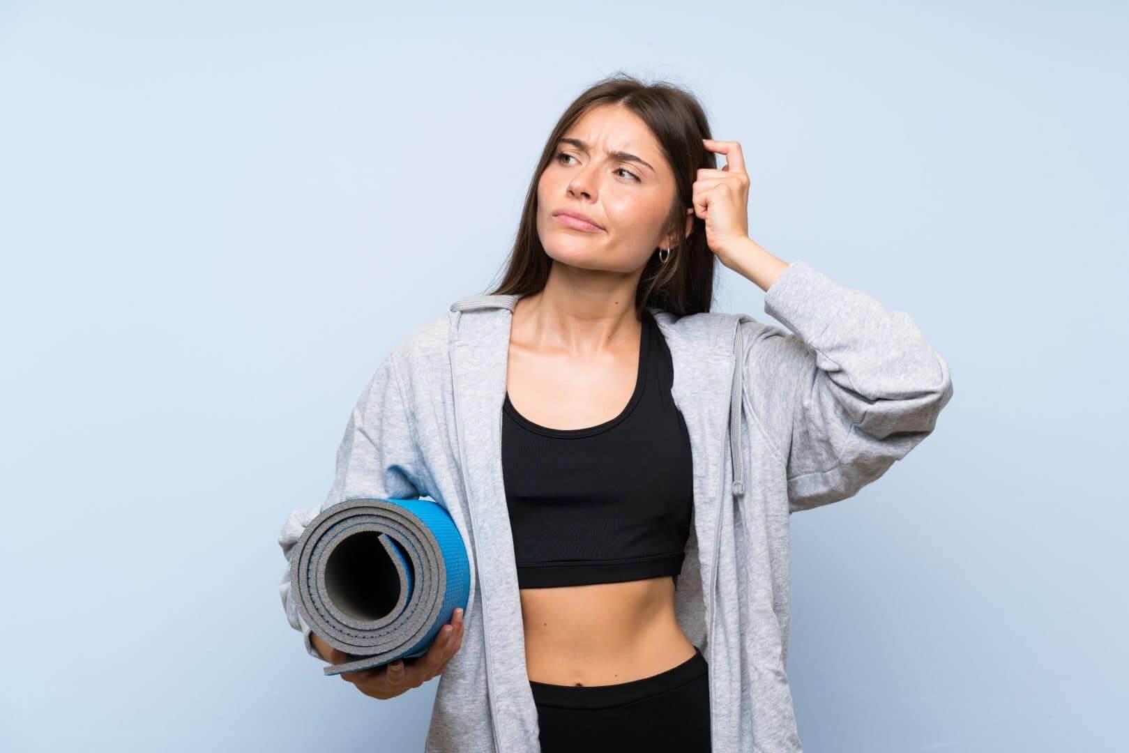 Derfor får du bumser af motion og træning