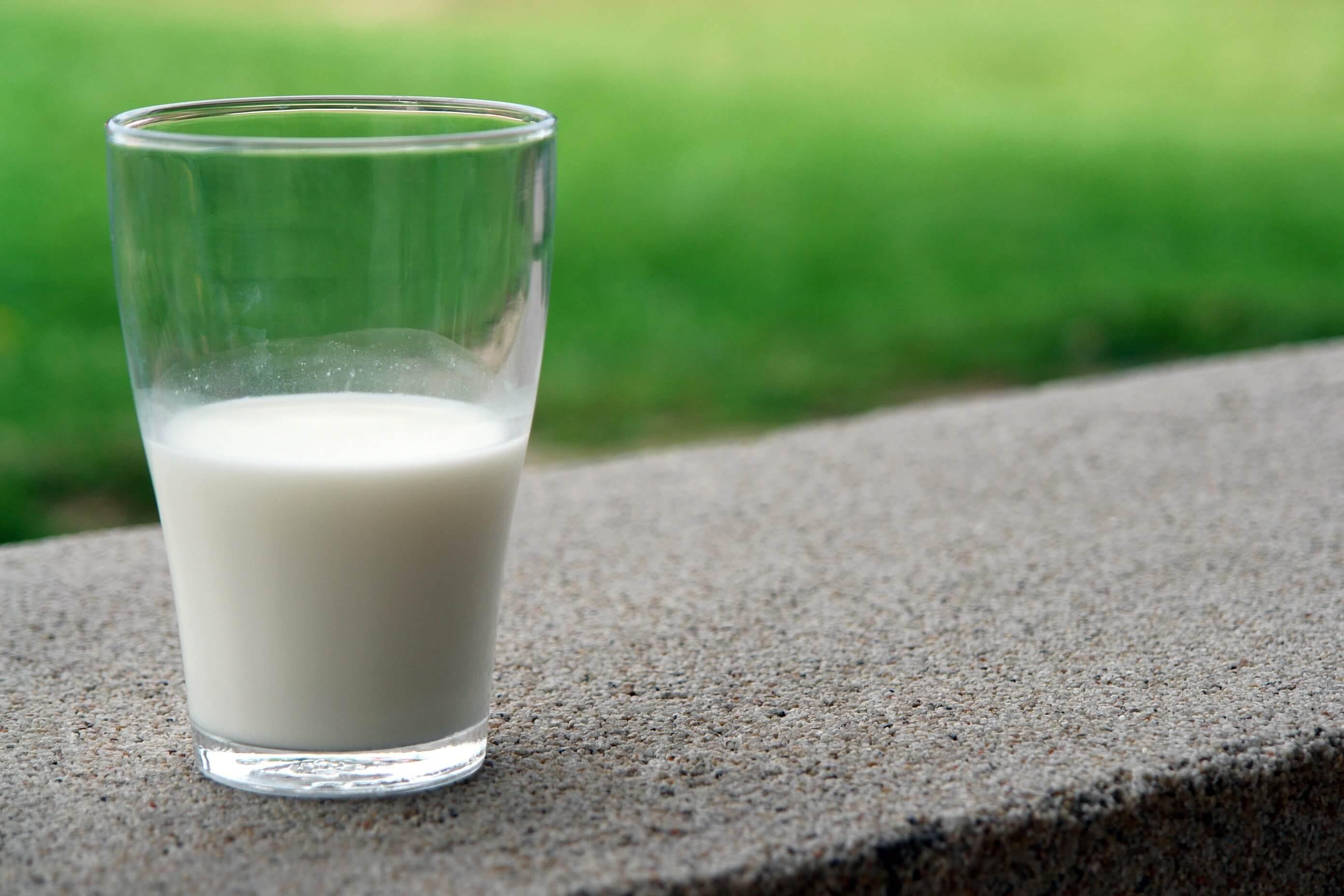 Et glas mælk - Mælk giver bumser