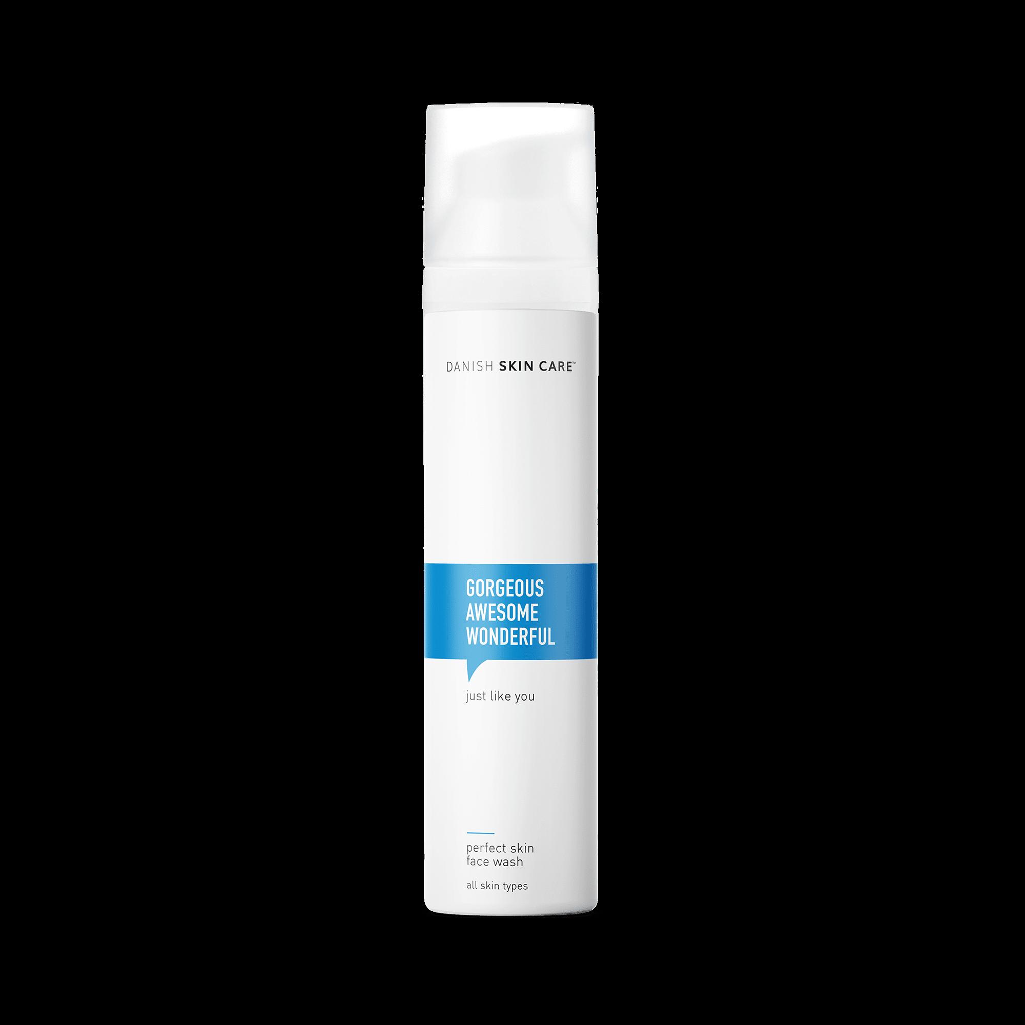 Perfect Skin Face Wash, mild og effektiv ansigtsvask.