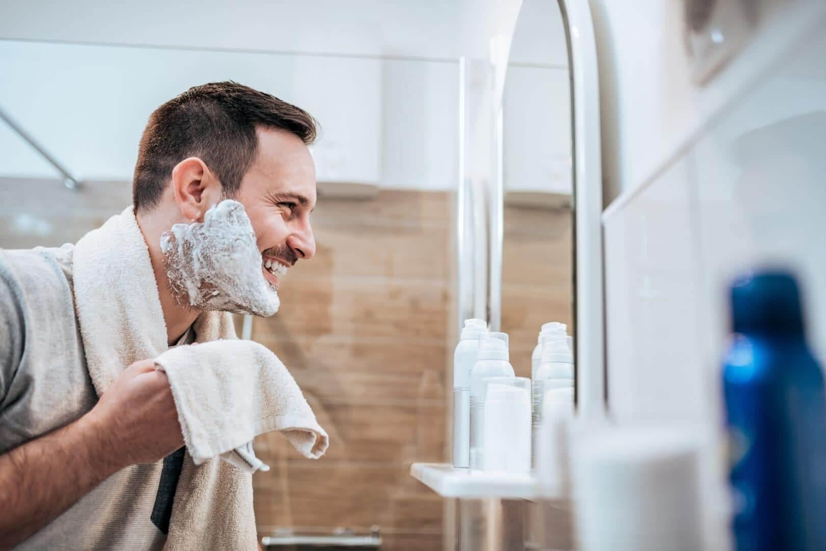 irriteret hud efter barbering