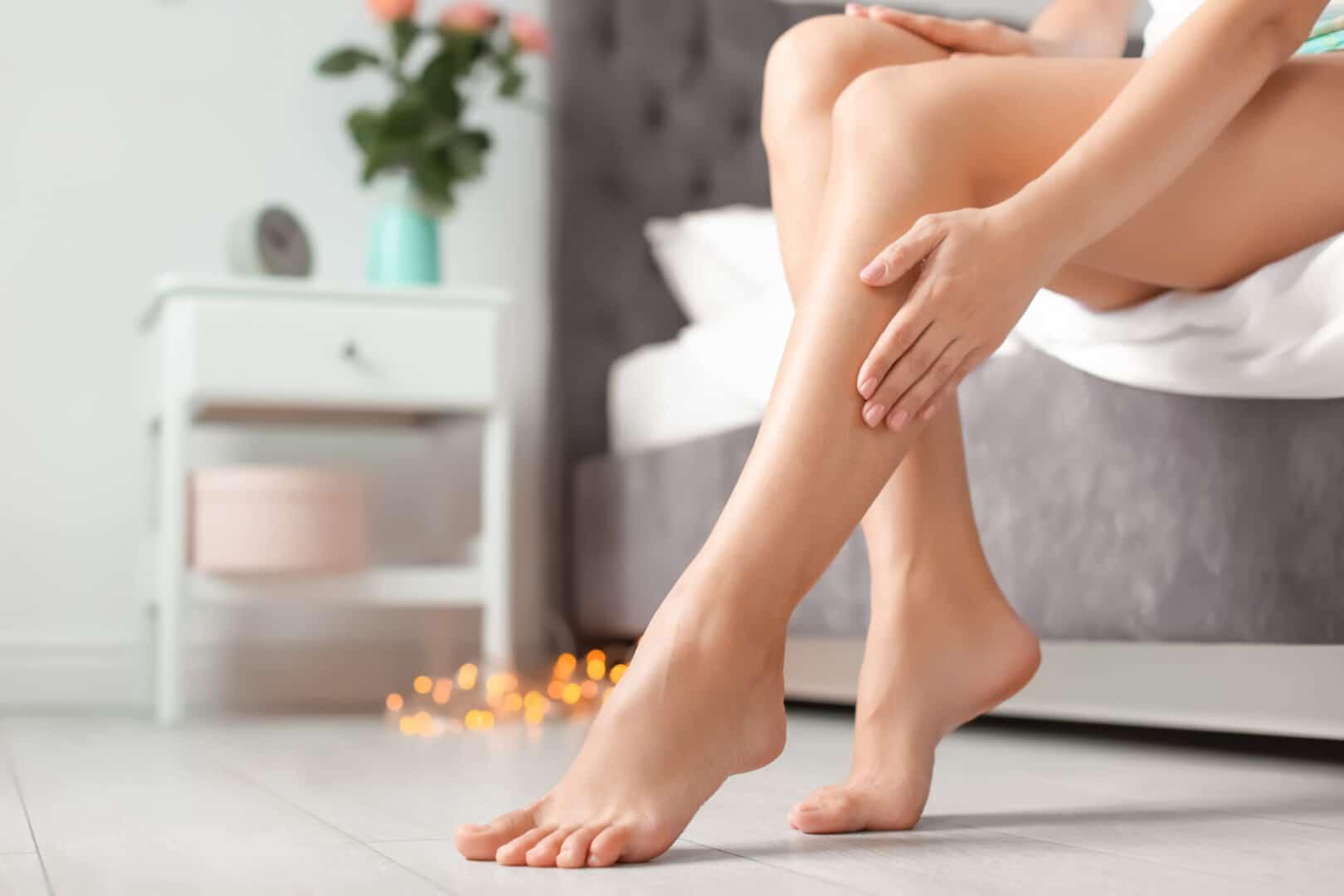 Tør hud på benene